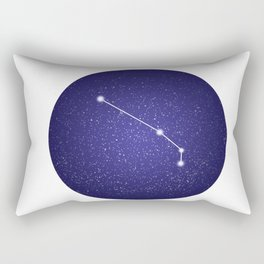Aries - zodiac stars constellation Rectangular Pillow