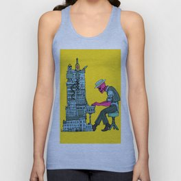 The Undead Pianist Unisex Tank Top