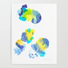 180802 Beautiful Rejection  6 | Colorful Abstract Poster