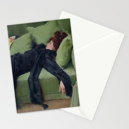 A DECADENT GIRL - RAMON CASAS Stationery Cards