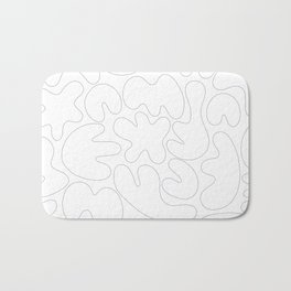 Blob Collage - Line Bath Mat