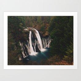 McArthur–Burney Falls Art Print