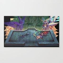 Xenoblade Chronicles 2 Diorama Canvas Print