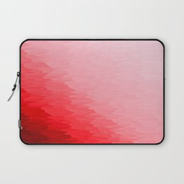 Red Texture Ombre Laptop Sleeve