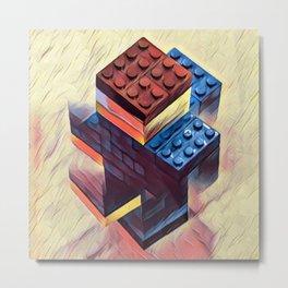 Legoman Metal Print