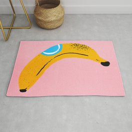 Banana Pop Art Rug