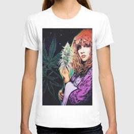 Stevie Nicks Tribute Mural, Gainesville Florida T-shirt