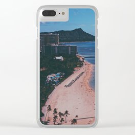 In The Sky Over Hawaii Clear iPhone Case
