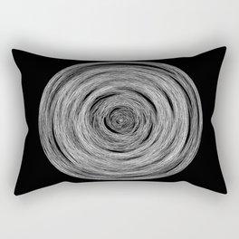 GEOMETRIC NATURE: NEST b/w Rectangular Pillow