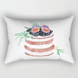 Fig Cake Rectangular Pillow