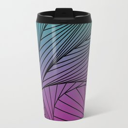 Gradient Spiral Pattern Travel Mug