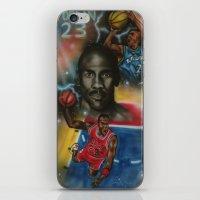 air jordan iPhone & iPod Skins featuring Air Jordan by DaeSyne Artworks