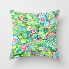Sharpie Doodle Throw Pillow