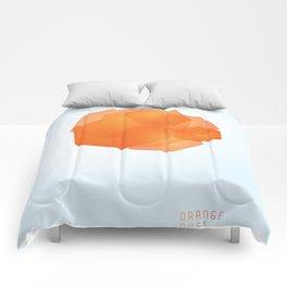 ORANGE DUST Comforters