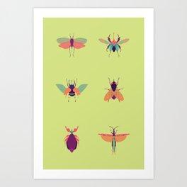 Bug Me Art Print