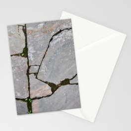 Damaged stones pic Stationery Cards
