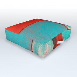 The Corners of My Mind, Abstract Painting Outdoor Floor Cushion