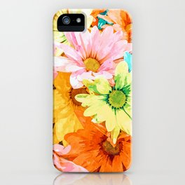 Simone #painting #floral iPhone Case