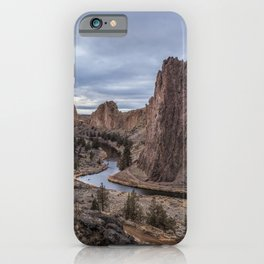 Twilight at Smith Rock State Park iPhone Case