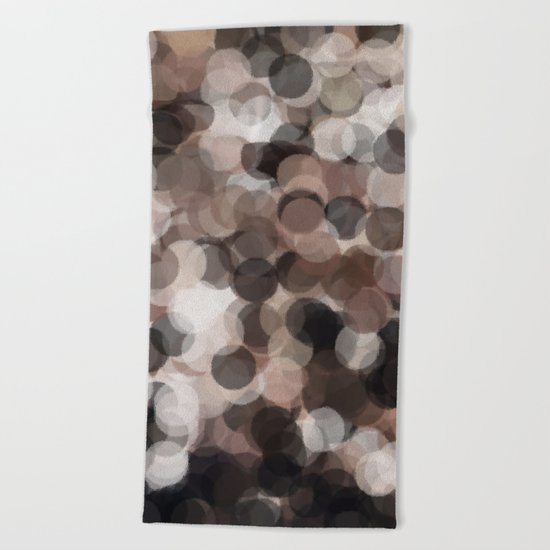 Coffee Bubbles #Society6 #Art #1 Beach Towel