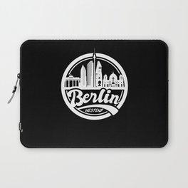 Berlin Westend Germany Skyline Laptop Sleeve