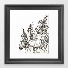 Botanical Abstract Framed Art Print