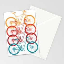 Colorful Bicycle Stationery Cards