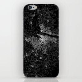 portland map iPhone Skin
