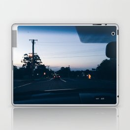 Driving into the sunset Laptop & iPad Skin
