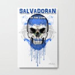 To The Core Collection: El Salvador Metal Print