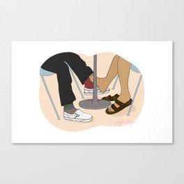 YUNG LUV Canvas Print