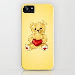 Teddy Bear Hypnotist iPhone Case