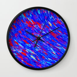 downward flow Wall Clock