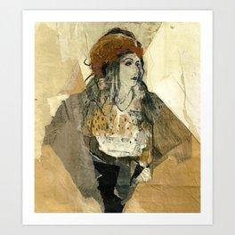 Hommage à Goya XI Art Print