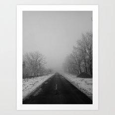 | Never-ending No. 38 - or endless fog and gray | Art Print