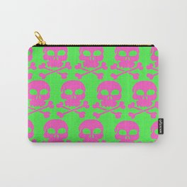 Skull Crazy- Watermelon Carry-All Pouch