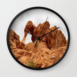 Elephant Rock - Valley of Fire Wall Clock