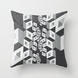 Socialization Throw Pillow