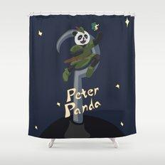 Peter Panda Shower Curtain