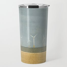 Scroby Sands Wind Farm, Great Yarmouth Travel Mug