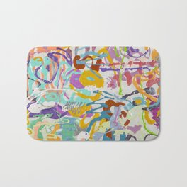 Shamanic Painting 09 Bath Mat