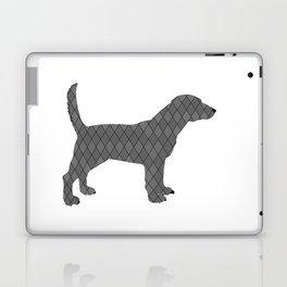 Black beagle Laptop & iPad Skin