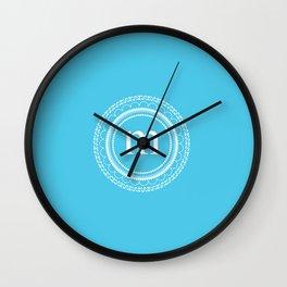 All around M Wall Clock