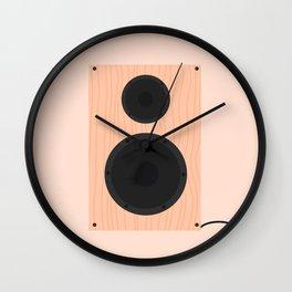 #60 Speaker Wall Clock