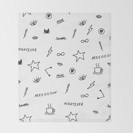 Things <3 Throw Blanket