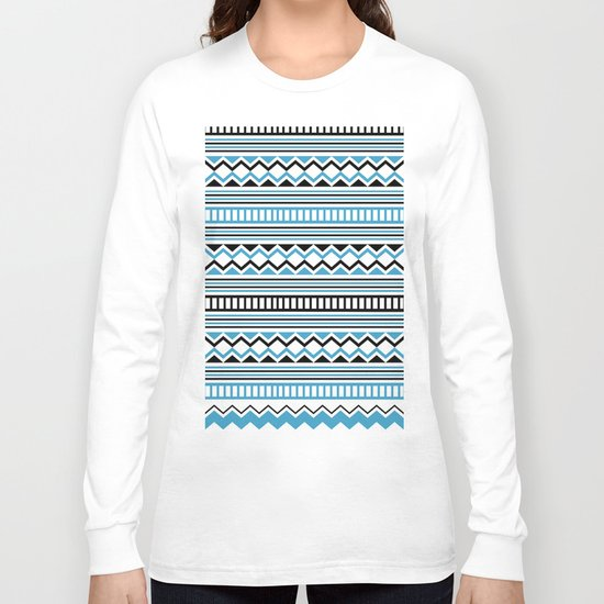 Tribal Scarf Long Sleeve T-shirt