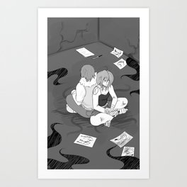House of Leaves Art Print