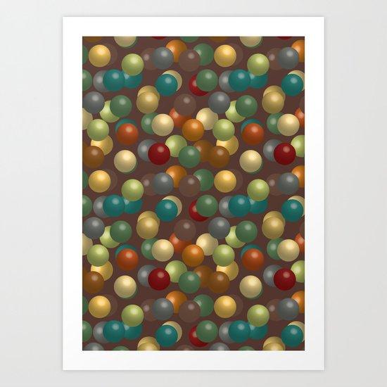 beads Art Print