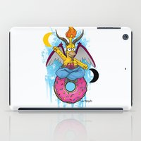 baphomet iPad Cases featuring Baphomer by Roe Mesquita