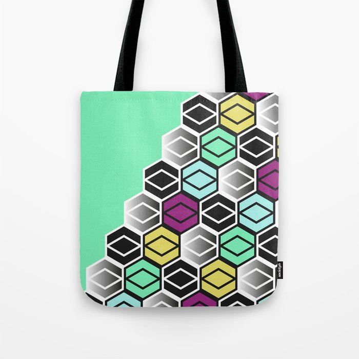 HexagonWall Tote Bag